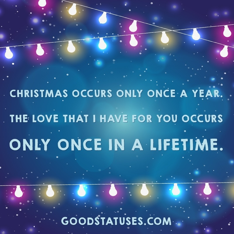 The love that I have for you | Christmas Love Quotes and Wishes