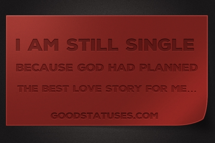 Attitude Status for WhatsApp - God had planned the best love story for me
